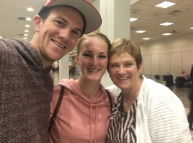 Michael, Bailie, and Mum@airport
