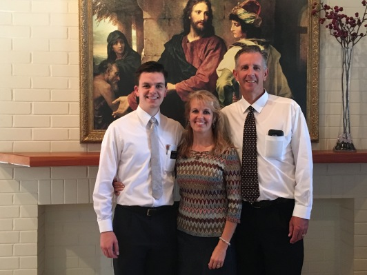 Good Missionary! Proud parents