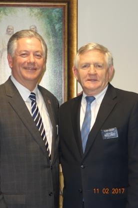 President McSwain and Houser