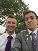 Selfie! AP Elder Smoot ~ Office Elder Cummings