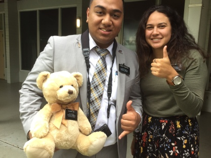 Elder Fukofuka and Sister Watene