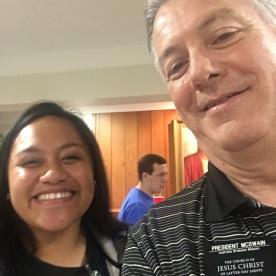 Sister Tuala & President McSwain