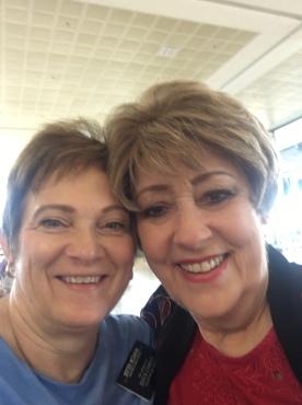Sister McSwain and Sister Houser