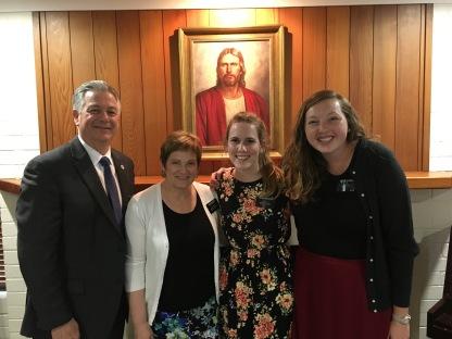 Sister Schuster w/ Sister Putnam