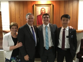Elder Prows w/ Elder Choi