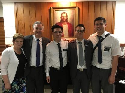 Elder Fung w/ Elders: Zhang & Westbrook
