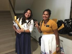 Sister Teihoarii and Tamanivalu