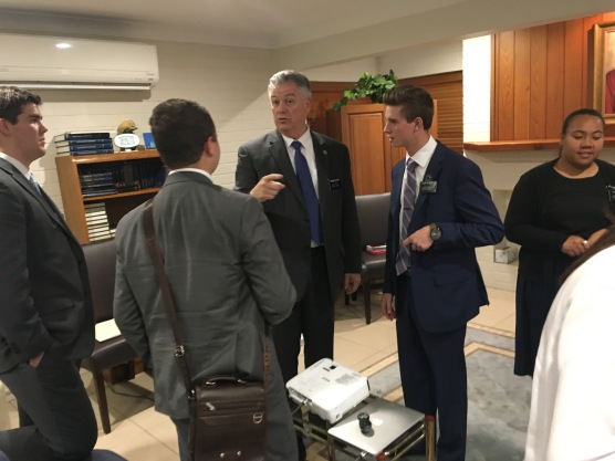 Elders Prows, Troff, Byington and President