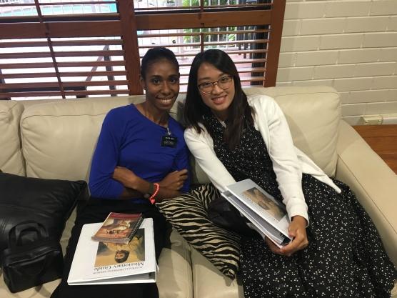 Sisters Sasa and Yuen