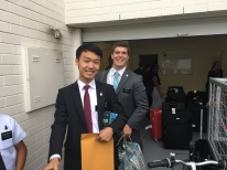 Elder Choi and Prows