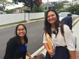 Sister Cendana and Teihoarii