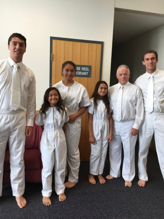 3 Sisters baptised by Elders Campbell, Bell, and Deering