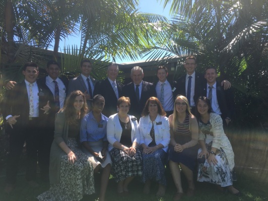 Elders:Johnson, Sautia, McSwain, Maxfield, Pugsley,Hymas, Elms, Sisters: Day, Sasa, McSwain, Maxfield, Shakin & Millward