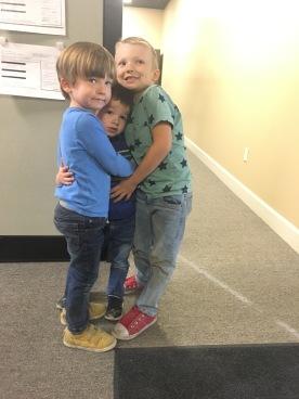 Cousins! Leo, Trey, and Jonah