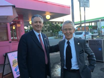 President and Elder Stokes