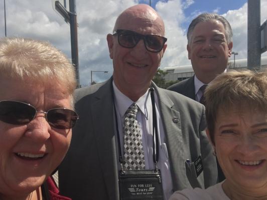 Sister & Elder Osborne w/ President & Sister McSwain
