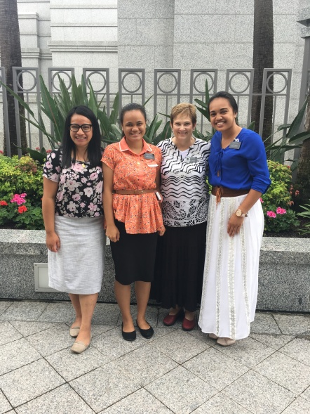Sisters: Roberts, Tarati, McSwain & Shan