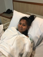 Sister Ruatu leg operation/ fell off her bike!