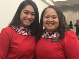 Tonga Sisters! Aloua & Anitema