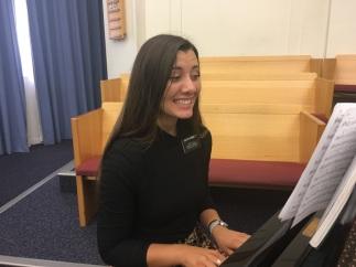 Pianist! Sister Wengert