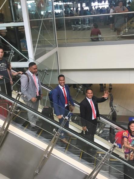 Three off to Tonga, Elders Fukofuka, Tonga, & Hausia