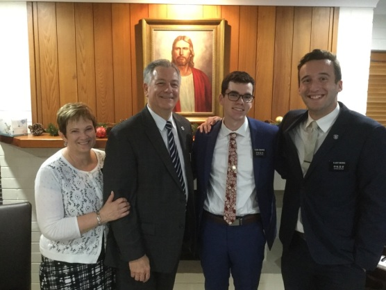 Elder Edwards w/ Elder Morris