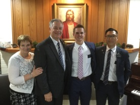 Elder Thomas w/ Elder Ha