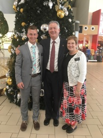 "Elder Smoot ""AP"" going home to Garland UT"