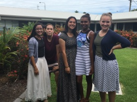 Sister Torres, friends and Sister Rhodes