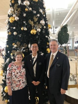 Elder Lim w/ Sister and President McSwain