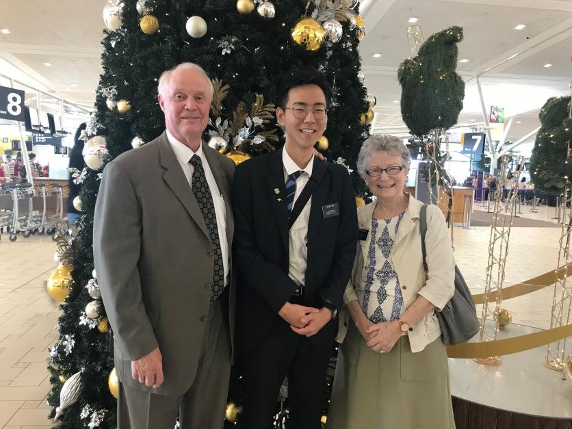 Elder Briggs, Lim & Sister Briggs