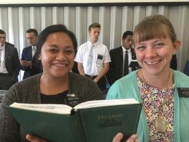 Sisters Tuala and Sykes