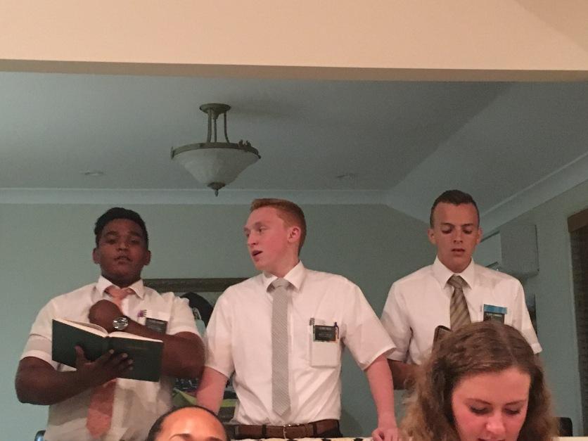 Elders: Sharma, Weed, Cummings: Office Help
