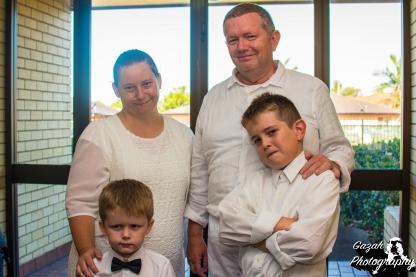 Sheering Family: Nicole, Rodney, Oscar & Noah